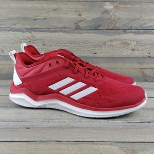 NEW adidas Speed Trainer 4 Baseball Shoes Red